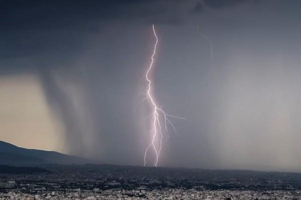 «Καμπανάκι» για ισχυρές βροχές τη νύχτα στη Βόρεια Εύβοια - Κίνδυνος για πλημμύρες