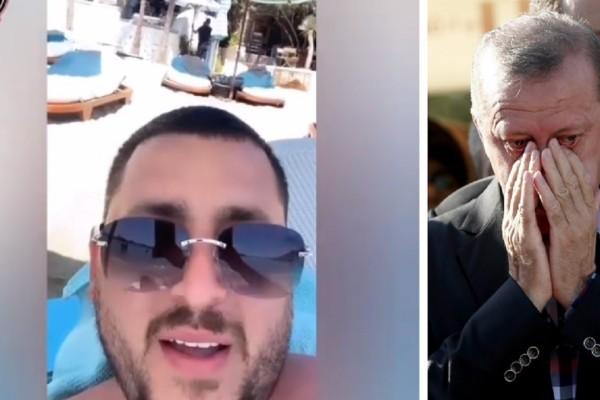 Mad Clip: Όταν ο ράπερ τα «έχωνε» στον Ερντογάν και γινόταν viral (Video)