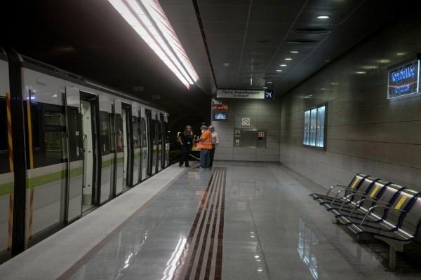 Άνοιξε ο σταθμός του μετρό «Μεταξουργείο» - Ακυρώθηκε η εκδήλωση με την μαριονέτα Αμάλ