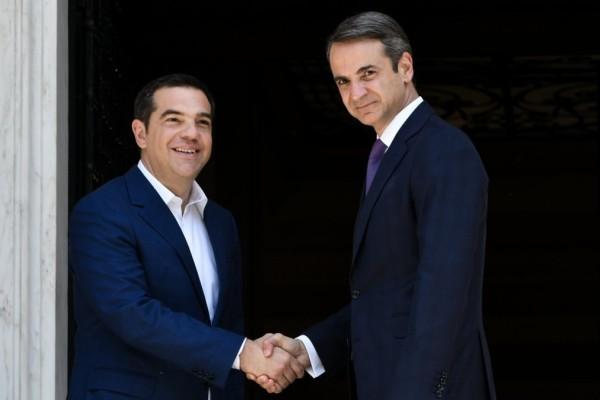 Η διαφορά παραμένει: Σταθερά μπροστά η ΝΔ από τον ΣΥΡΙΖΑ - Παραμένει καταλληλότερος ο Μητσοτάκης