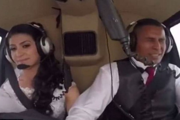 Νύφη κατέγραψε με κάμερα τον θάνατό της! Σκοτώθηκε ενώ πήγαινε με ελικόπτερο στο γάμο (Video)