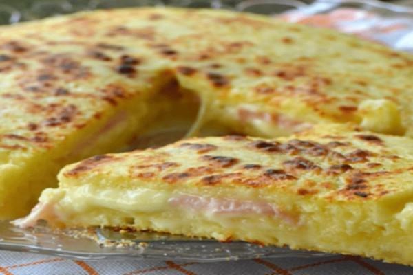 Νόστιμο και εύκολο πρωινό χωρίς ζύμωμα - Έτοιμο μόνο σε 5 λεπτά