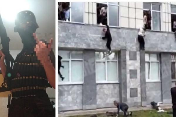 Ρωσία: Αυτός ειναι ο 18χρονος μακελάρης! «Πάντα σκεφτόμουν τον θάνατο...» - Σοκαριστικά βίντεο από την επίθεση στο πανεπιστήμιο