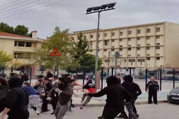 Νέα επεισόδια στη Σταυρούπολη: Πετροπόλεμος και χημικά