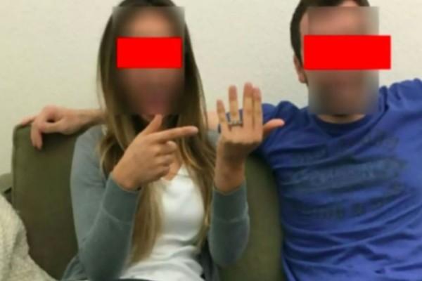 Μόλις της έκανε πρόταση γάμου ανέβασε μια φωτογραφία στο Facebook - Όσοι την είδαν