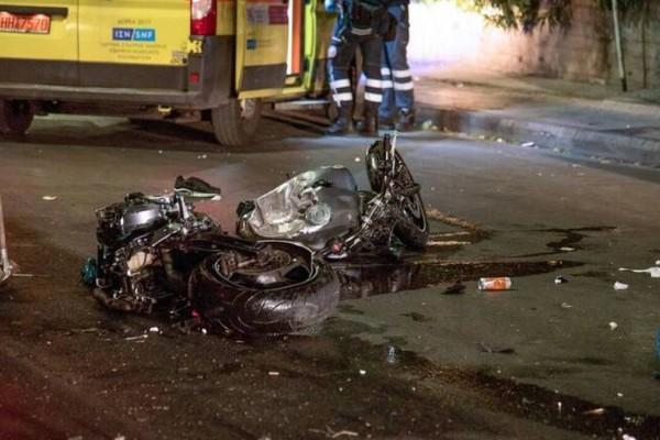 Αιγάλεω: Σοκάρει βίντεο από το τροχαίο στη Θηβών με νεκρό έναν οδηγό μηχανής