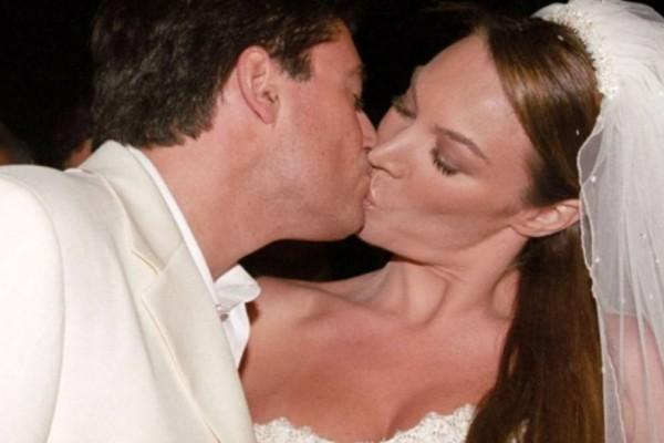 Γάμος Στεφανίδου - Ευαγγελάτος: Με μίνι νυφικό κε ξώφτερνα παντρεύτηκε η Τατιάνα τον Νίκο!