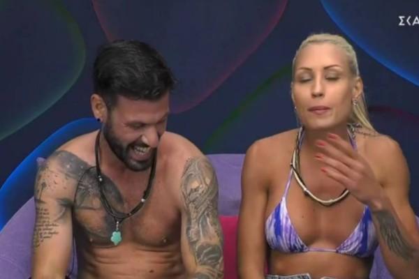Το διόλου κατάλληλο πλάνο στο Big Brother - Την έριξαν στην πισίνα και την έγδυσαν (Vid)