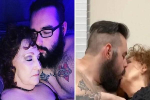 76χρονη γιαγιά ερωτεύτηκε και έκανε σχέση με τον 23χρονο φίλο του νεκρού γιου της!