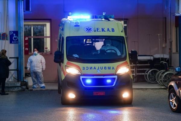 Λάρισα: Στο νοσοκομείο 45χρονη που κατάπιε καυστικό υγρό