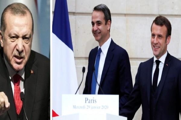 Ελληνοτουρκικά: «Οργή» Τουρκίας για τη συμφωνία Ελλάδας με Γαλλία