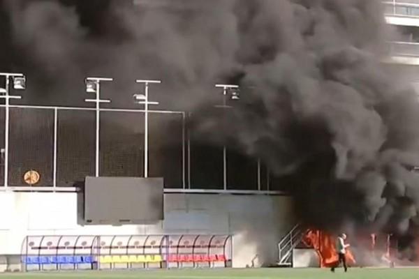Μουντιάλ: Φωτιά ξέσπασε στο γήπεδο «Estadi Nacional»