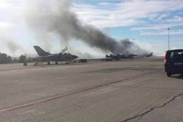 Συναγερμός στην Πάτρα: Φωτιά έξω από το αεροδρόμιο Αράξου – Κοντά σε αποθήκη πυρομαχικών