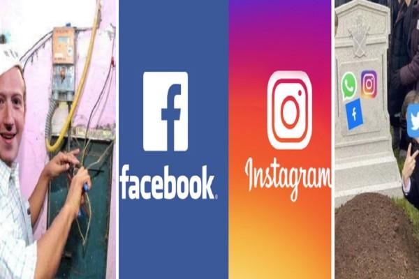 Facebook - Instagram: Πότε θα λειτουργήσουν ξανά; «Κραχ» για την εταιρεία στη Wall Street - Τρελό πάρτι στο twitter για την κατάρρευση