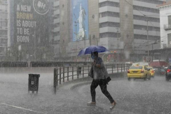 Καιρός live χάρτης - Κακοκαιρία «Μπάλλος»: Άνοιξαν οι ουρανοί στην Αττική! Πού θα σημειωθούν βροχές και καταιγίδες (Video)
