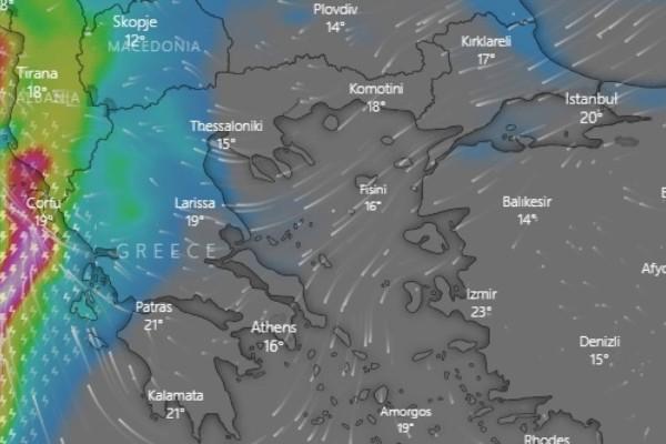 Κακοκαιρία «Αθηνά»: Πλημμύρισαν οι δρόμοι στην Κέρκυρα! Έκτακτη προειδοποίηση Κλέαρχου Μαρουσάκη - Δείτε LIVE την πορεία της κακοκαιρίας