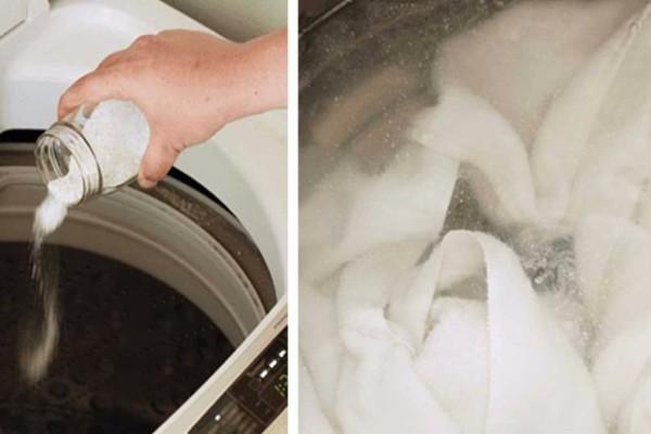 Κάντε τα λευκά σας να λάμψουν και πάλι, με υλικά που έχετε ήδη στην κουζίνα!