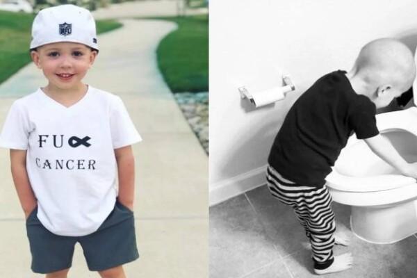 Θυμάστε το αγόρι αυτής της viral φωτογραφίας που έδινε μάχη με τη λευχαιμία; Βγήκε νικητής!