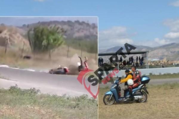 Σοβαρό ατύχημα σε αγώνα με μηχανές στα Μέγαρα
