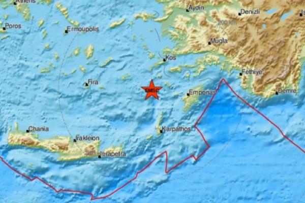 Σεισμός 4,2 Ρίχτερ στη Νίσυρο - Δραματική προειδοποίηση για τη Θήβα