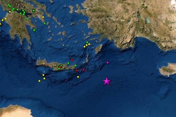 Πανίσχυρος σεισμός 6,1 Ρίχτερ στη Κάρπαθο!