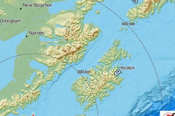 Ισχυρός σεισμός στην Αλάσκα - Φόβοι για τσουνάμι