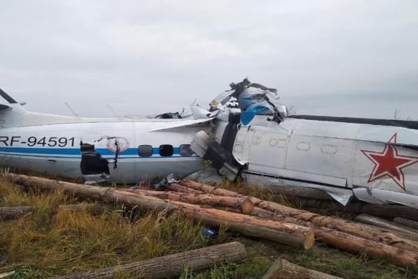 Ρωσία: Συντριβή αεροσκάφους με δεκάδες νεκρούς (Video)
