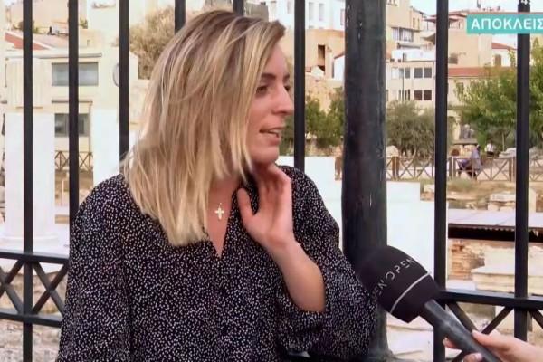 Η Σπυριδούλα Καραμπουτάκη απ΄ το MasterChef «έσπασε» τη σιωπή της για το ροζ βίντεο