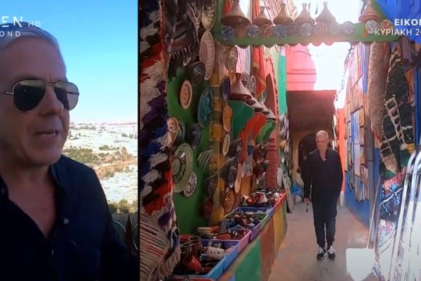 Open: Οι Εικόνες με τον Τάσο Δούση στο Μαρόκο!