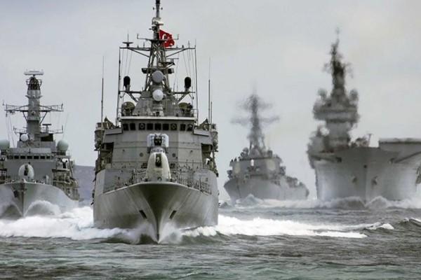 Πολεμικό σκηνικό στήνει η Τουρκία: Έβγαλε πολεμικά πλοία στην κυπριακή ΑΟΖ! (Video)