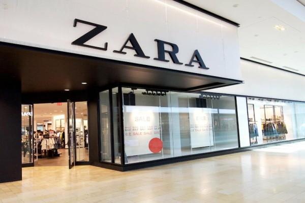 ZARA: Ψηλόμεση φούστα με σκίσιμο σε τιμή σοκ!