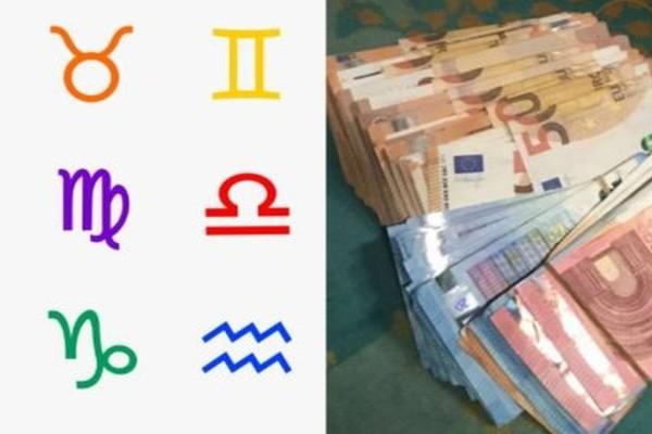 Όλα τα λεφτά δικά τους - 4 ζώδια που έλκουν τα χρήματα σαν μαγνήτης