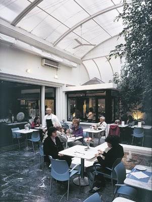 Cafe Μουσείου Κυκλαδικής Τέχνης