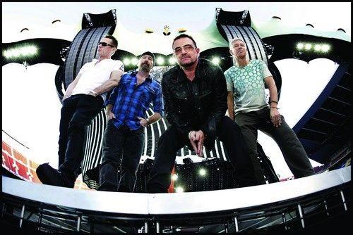 Οι U2 στην Αθήνα!