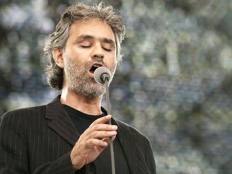 O Andrea Bocelli στο Ηρώδειο