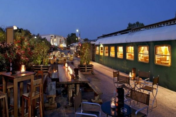 «Jazz Express»  στο Μουσικό Βαγόνι Οrient Express της Αμαξοστοιχίας –Θεάτρου το Τρένο στο Ρουφ