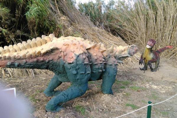 Το Πάρκο Δεινοσαύρων είναι ένα ταξίδι στην προ‑ιστορία!