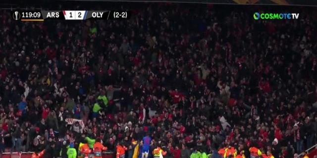 Europa League: Βραδιά ερυθρόλευκου ονείρου στο Λονδίνο! (videos)