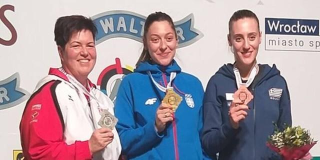 Άννα Κορακάκη: Χάλκινη στο Ευρωπαϊκό Πρωτάθλημα Όπλων!