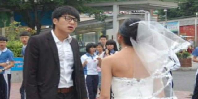 Μόλις είδε το πρόσωπο της νύφης, της ζήτησε να χωρίσουν. Δείτε την από μπροστά και θα καταλάβετε!