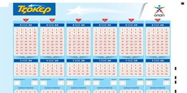 Τζόκερ: Αυτά είναι τα τυχερά νούμερα από την έξτρα κλήρωση της Τρίτης (31/3)