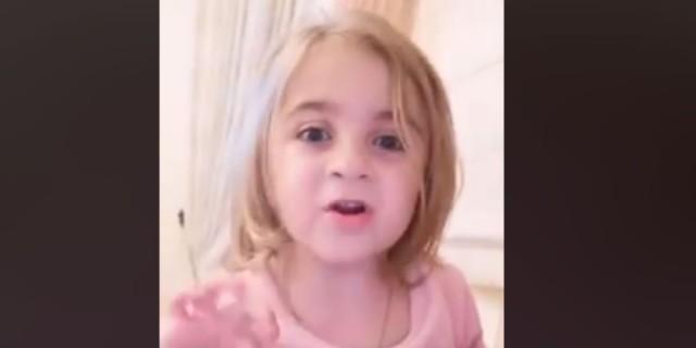 Η ξεκαρδιστική αντίδραση μιας τετράχρονης απέναντι στον κορωνοϊό!