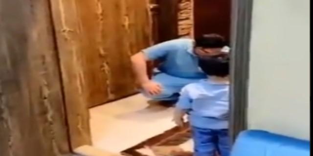 Ραγίζει καρδιές ο γιατρός που ξεσπά σε κλάματα αντικρίζοντας το γιο του!