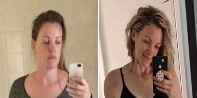 Αυτή η 34χρονη μητέρα 5 παιδιών έτρωγε ψωμί και μακαρόνια και έχασε 30 κιλά! Ποιο το «μυστικό»;