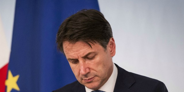 «Έρχεται η διάλυση της Ευρωπαϊκής Ένωσης λόγω της κρίσης του κορωνοϊού» - Δραματική προειδοποίηση του Ιταλού πρωθυπουργού Τζουζέπε Κόντε