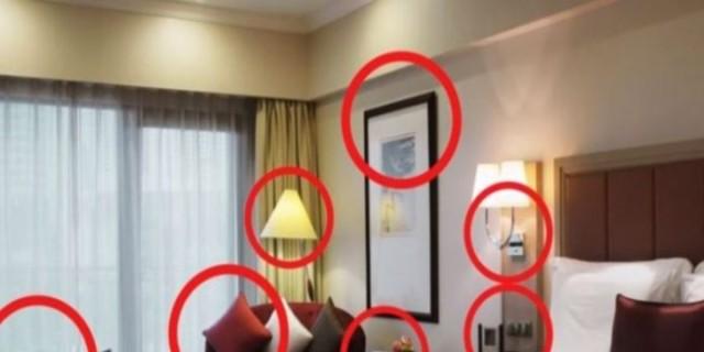 Αν δείτε κάτι από αυτά τα σε δωμάτιο ξενοδοχείου φύγετε αμέσως - Εκεί κρύβονται κρυφές κάμερες