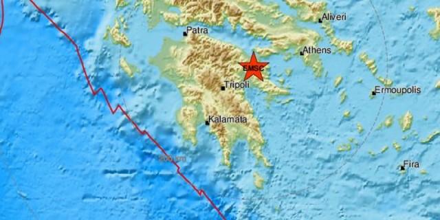 Διπλή σεισμική δόνηση στην Ελλάδα (photo)