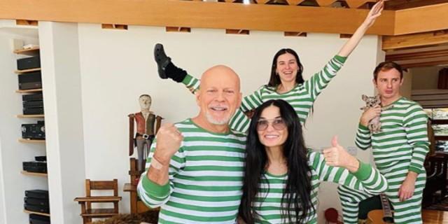 Κορωνοϊός: Μπρους Ουίλις και Ντέμι Μουρ μένουν σπίτι και… ποζάρουν μαζί!