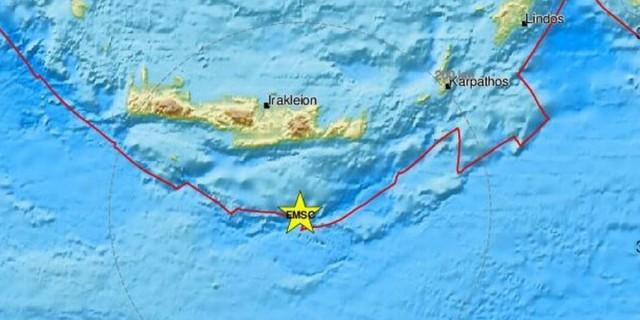 Σεισμός στην Κρήτη - Νέο χτύπημα του Εγκέλαδου