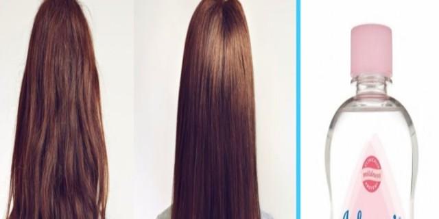 Έβαλε baby oil στα μαλλιά της και έπαθε πλάκα με το αποτέλεσμα - Δοκιμάστε το και εσείς